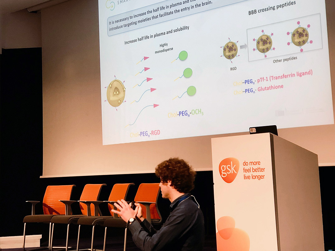 SMART4FABRY presented at the 6th Symposium of Medicinal Chemistry Young Researchers